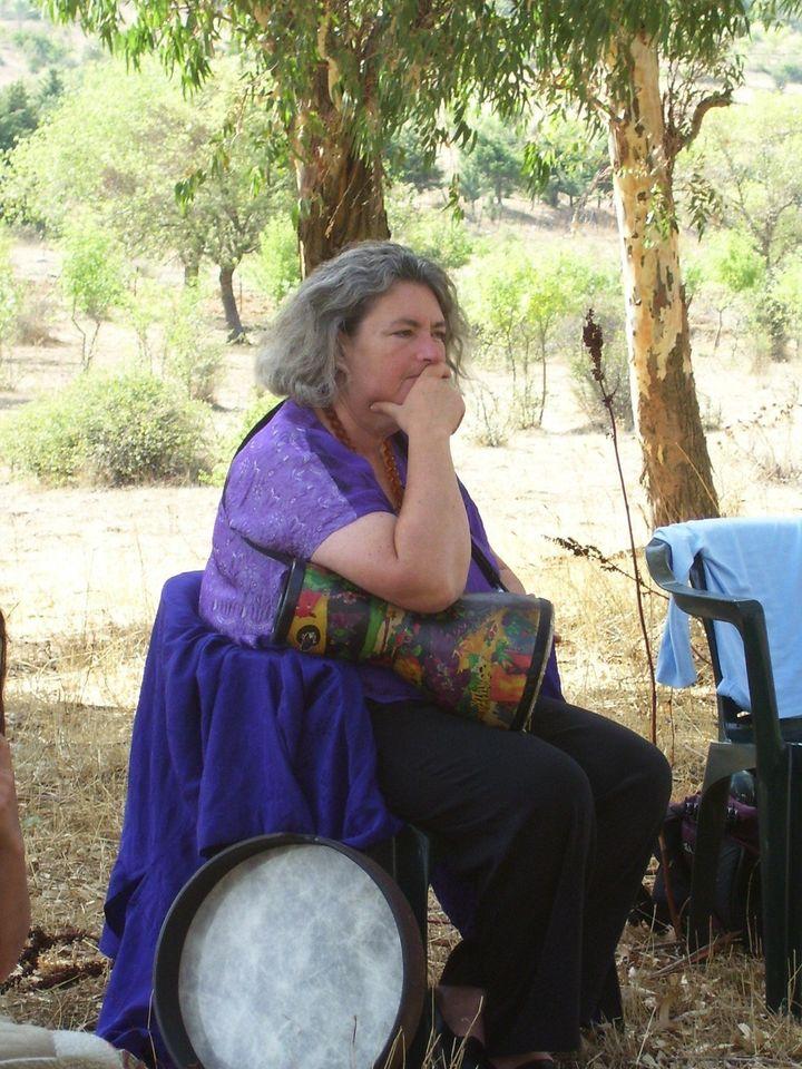 Description 1 Starhawk, pagan and eco-activist (sicilian workshop) | Source | Author Dedda71  | Date 2007 | Permission | othe