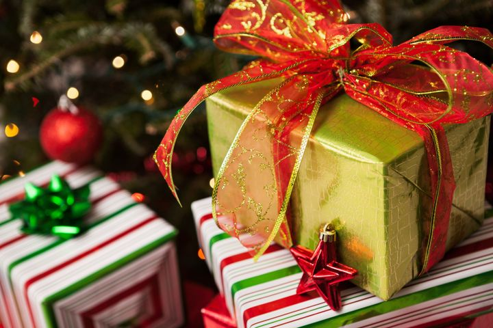 wrapped christmas presents - Why Do We Give Gifts At Christmas