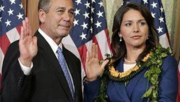 Tulsi Gabbard, First Hindu In Congress, Uses Bhagavad Gita At