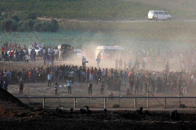 Επτά Παλαιστίνιοι νεκροί από ισραηλινά πυρά σε ταραχές στη Λωρίδα της