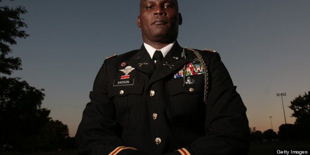 FORT BELVOIR, VA - SEPTEMBER 18: FILE, Lt. Colonel Greg Gadson, a former battalion commander who lost both his legs to an IED