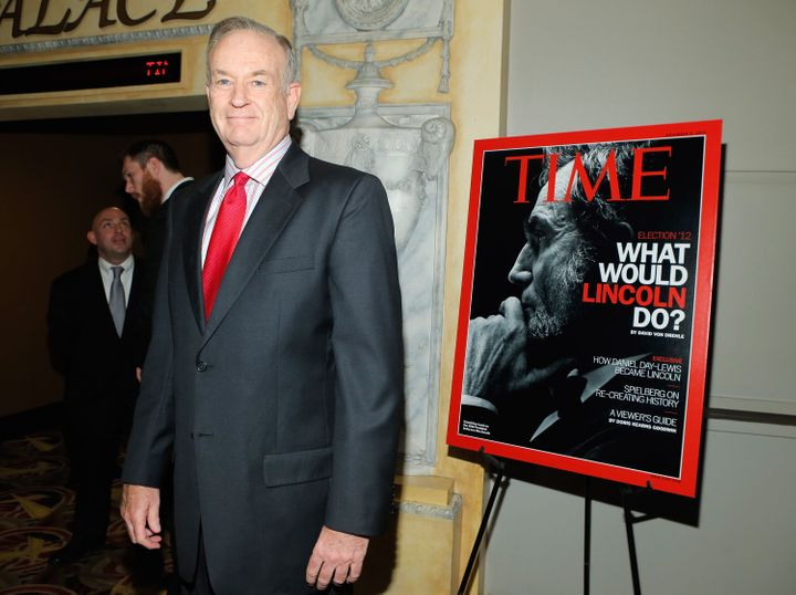 NEW YORK, NY - OCTOBER 25:  Bill O'Reilly attends the TIME's screening of Lincoln and Q & A on October 25, 2012 in New York C
