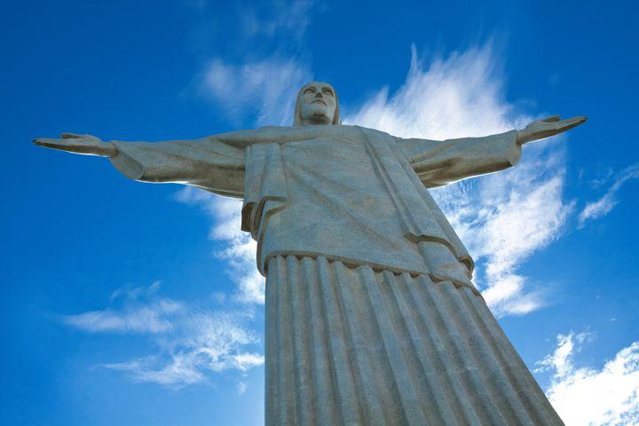 statue of christ redeemer  rio...