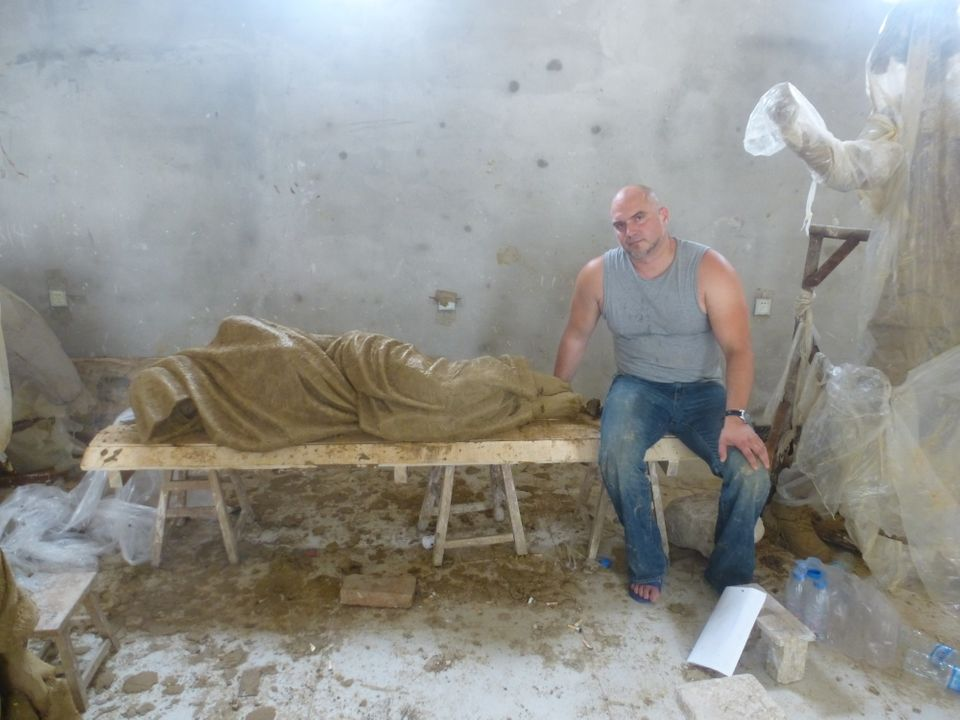 """Timothy Schmalz's """"Homeless Jesus"""" isn't your typical depiction of Christ."""
