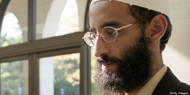 FALLS CHURCH, VA - OCTOBER 04: Anwar Al-Awlaki  at Dar al Hijrah Mosque on October 4 2001 in Falls Church, VA. (Photo by Trac