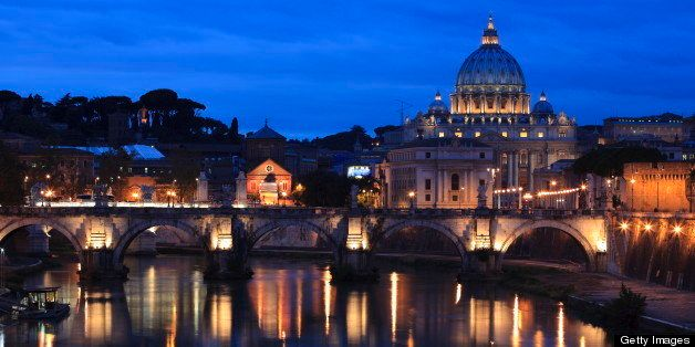 Saint Peter's Basilica at Twilight, Vatican - XXXL