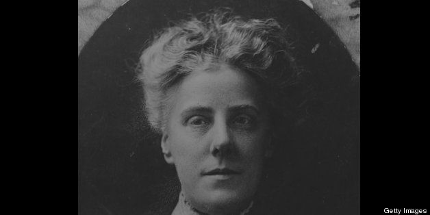 A portrait of the founder of Mothers Day Anna Jarvis, circa 1900s.  (Photo by FPG/Getty Images)