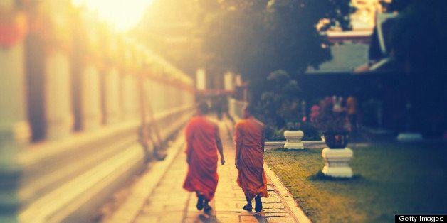 Wat Arun, Bangkok, Thailand. Tilt shift lens.