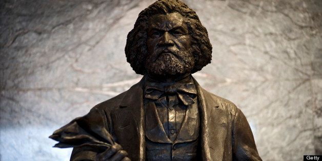 Congress just approved having the District of Columbia give a statue of the great African-American historic figure Frederick