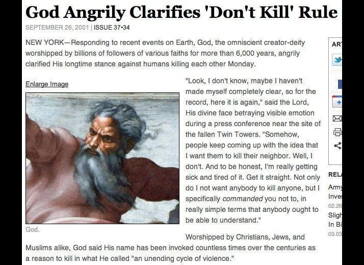 "(<a href=""http://www.theonion.com/articles/god-angrily-clarifies-dont-kill-rule,222/"" target=""_hplink"">Read The Full Story He"