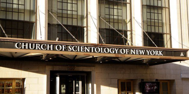 NEW YORK - MAY 11:  Church Of Scientology of New York, in New York, New York on MAY 11, 2012.  (Photo By Raymond Boyd/Michael