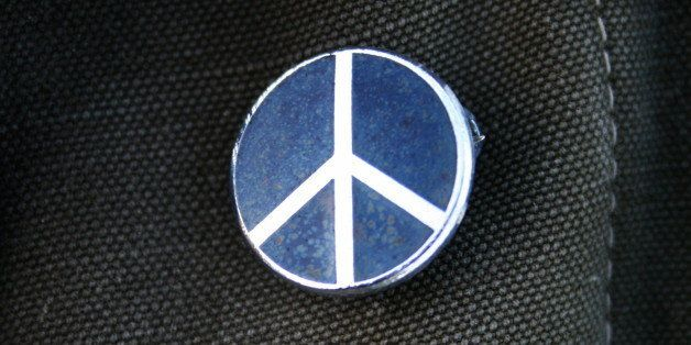Campaign for Nuclear (CND) Disarmament enamel button