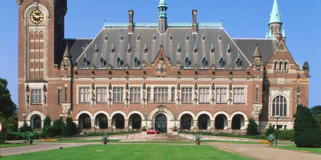 Holland, Den Haag, Vredespaleis, home to the International Court of Justice.