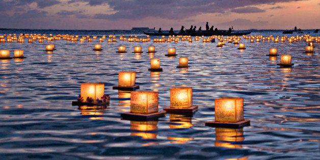 Lantern Floating Ceremony 2012