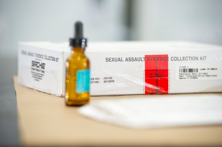 A sexual assault evidence collection kit, also known as a rape kit.