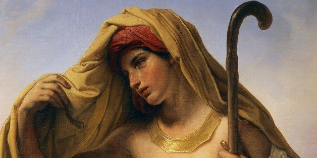 ITALY - JUNE 06:  Varese, Musei Civici Di Villa Mirabello (Archaeological Museum) Tamar of Judah, 1847, by Francesco Hayez (1