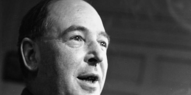 25th November 1950:  British writer C S Lewis (Clive Staples Lewis, 1898 - 1963), a Fellow and Tutor of Magdalen College, Oxf