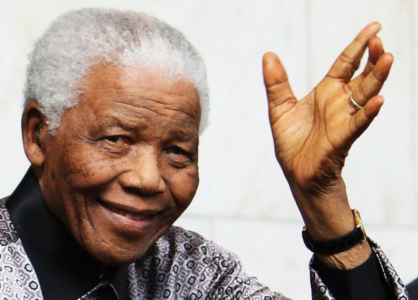"""I am not a saint, unless you think of a saint as a sinner who keeps on trying.""  — Nelson Mandela"
