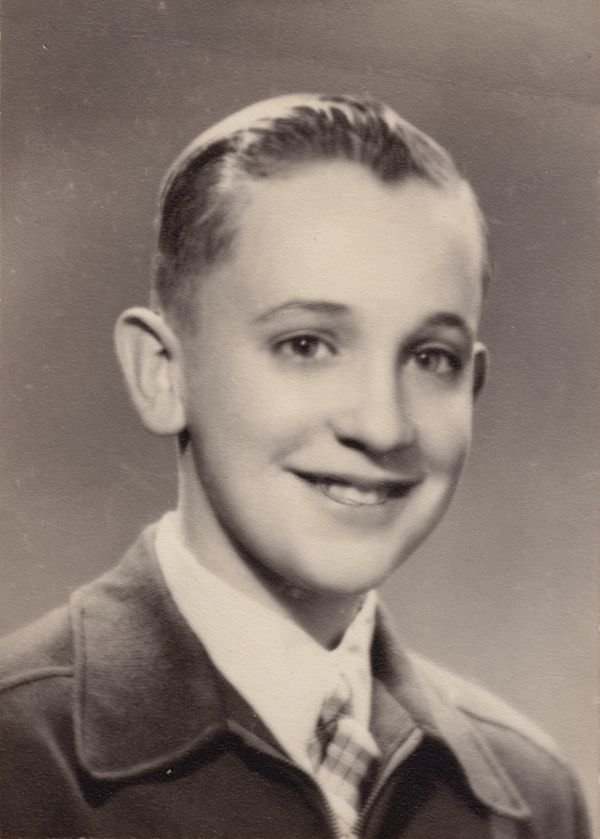 This undated handout reproduction photo made available by Maria Elena Bergoglio, shows Jorge Mario Bergoglio as a teenager, i