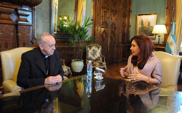 With Cristina Fernández de Kirchner, Argentina's 52nd President.