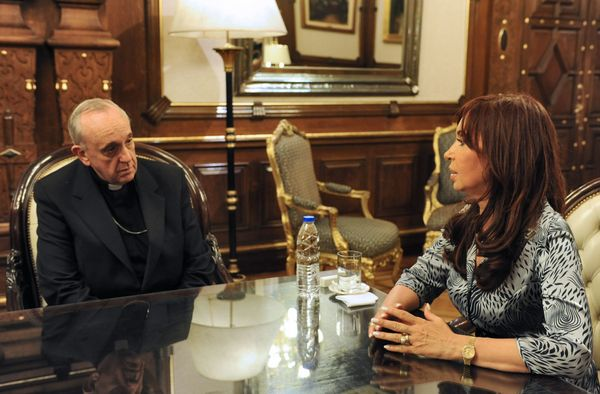 With Cristina Fernández de Kirchner, Argentina's 52nd President.