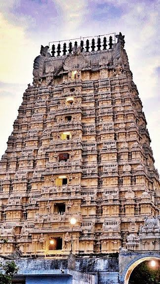This temple dedicated to Shiva is located in Kanchipuram, Tamil Nadu, India.