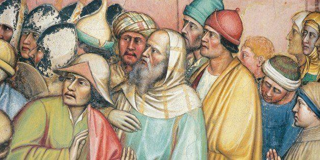 Image result for Debate painting medieval