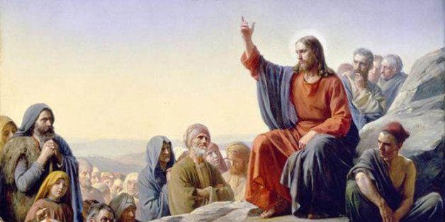 Sermon  Mount Jesus Christ Mormon
