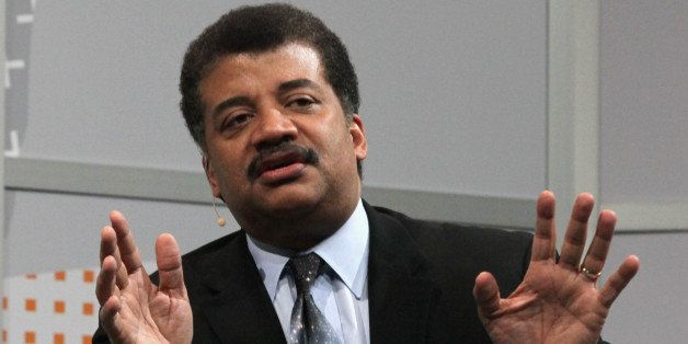 AUSTIN, TX - MARCH 08:  Astrophysicist Neil deGrasse Tyson speaks onstage at the Neil DeGrasse Tyson Keynote during the 2014