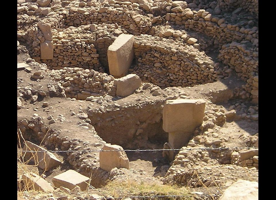 Göbekli Tepe, in southeastern Turkey, the remains of an ancient ritual structure over 10,000 years old. This is the oldest re