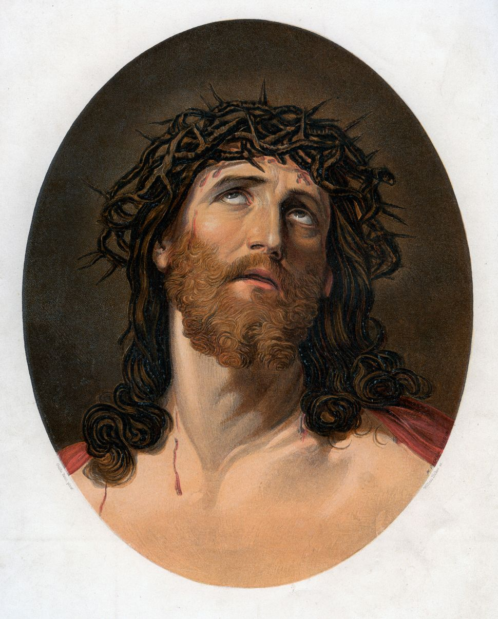 Christ Crowned with Thorns, 19th century. Artist: William Dickes (Photo by The Print Collector/Print Collector/Getty Images)