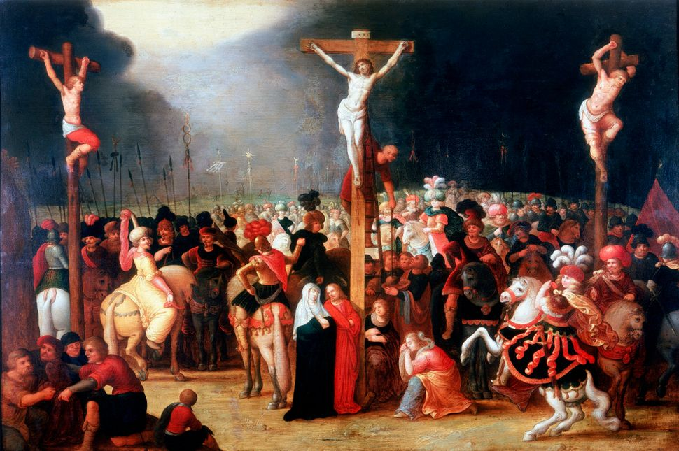Jesus' Crucifixion In Art Illustrates One Of The Most Famous