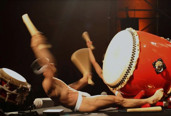 Za Ondekoza is a Japanese troupe specializing in taiko drumming, founded in 1969 on Sado Island. Ondekoza's performances help