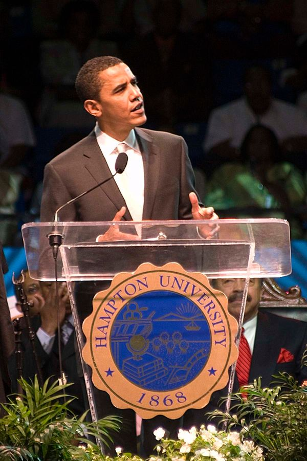 It was a proud moment for the Ministers' Conference to have then-senator Barack Obama share words that still carry strong in