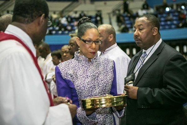 The Reverend Debra L. Haggins was named university chaplain and pastor of the historic Memorial Church at Hampton University