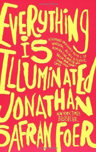 "Jonathan Safran Foer's novel <a href=""http://www.amazon.com/Everything-Illuminated-Jonathan-Safran-Foer/dp/0060529709/ref=sr_"