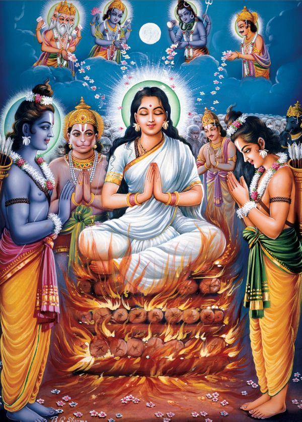 """""""Among Hindus, the popularity of the Mahabharata is rivaled only by the glories of the Ramayana. Known in Sanskrit as the Adi"""