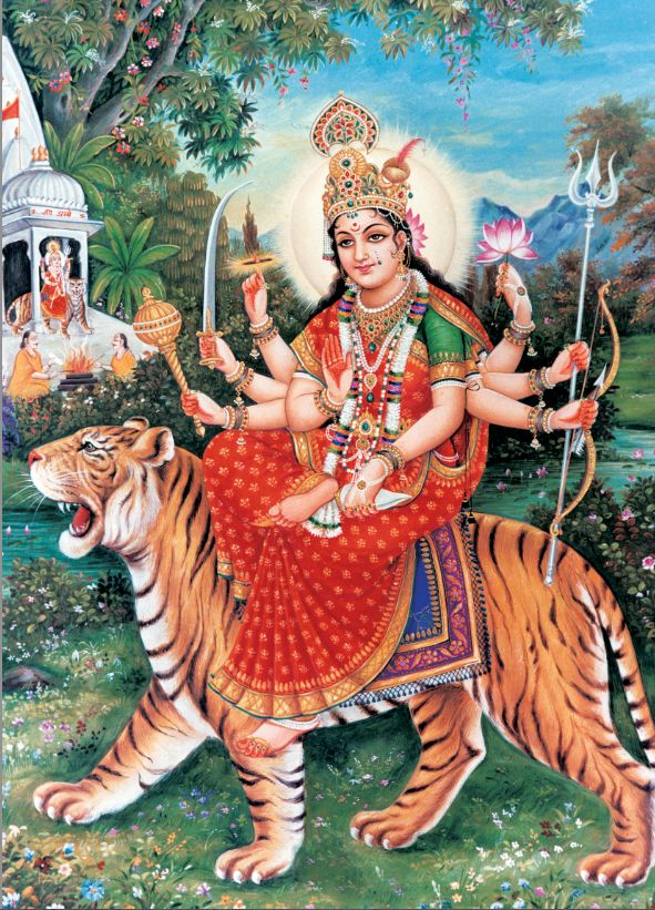 """""""Generally Hinduism is divided into three broad strands, according to the particular vision of the deity held by its devotees"""