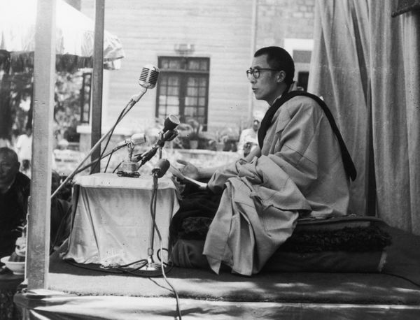 A speech by the 14th Dalai Lama, circa 1955.