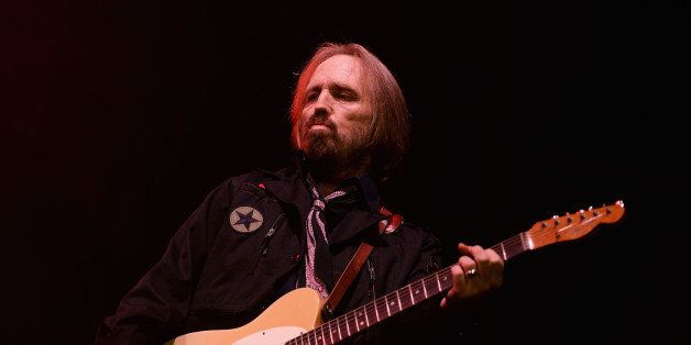 DOVER, DE - JUNE 22:  Tom Petty performs onstage at the Firefly Music Festival at The Woodlands of Dover International Speedw