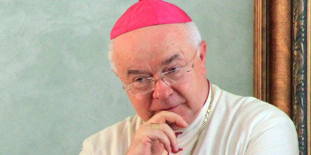 File photograph of Pole Monsignor Josef Wesolowski, (65) who has been the papal nuncio in the Dominican Republic for over fiv