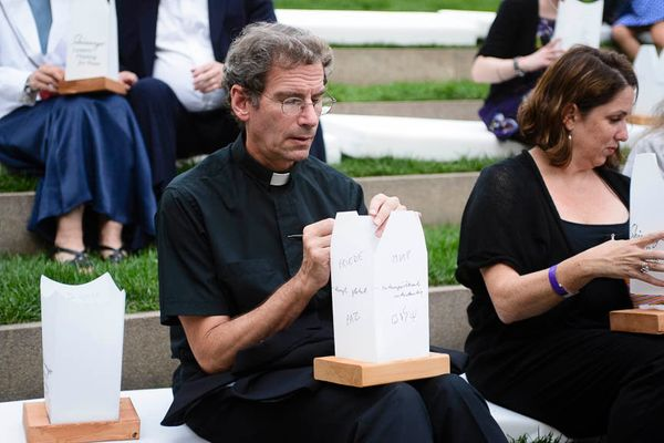 Father Michael Holleran of Church of Notre Dame in Morningside Heights