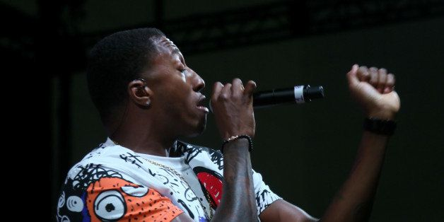 LOS ANGELES, CA - JUNE 29:  Singer LeCrae performs onstage at day 2 of Music Matters Presented By Nissan during the 2014 BET