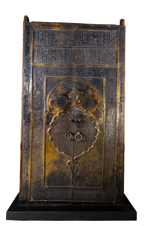 Doors of the Ka'ba, 1635–1636 Turkey Ottoman dynasty (1299–1922) Gilded silver on wood National Museum of Saudi Arabia, Riyad