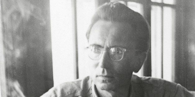 UNSPECIFIED - CIRCA 1948:  Portrait of austrian psychologist Viktor Frankl, Photograph, 1948  (Photo by Imagno/Getty Images)