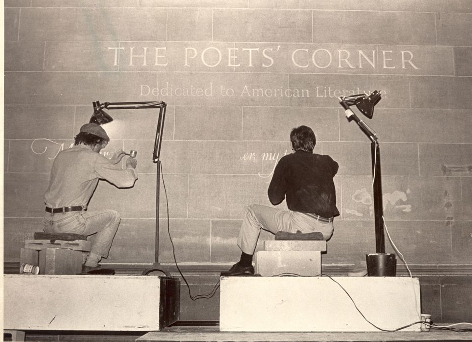 The American Poet's Corner was created at New York City's  Cathedral of St. John the Divine in 1984.