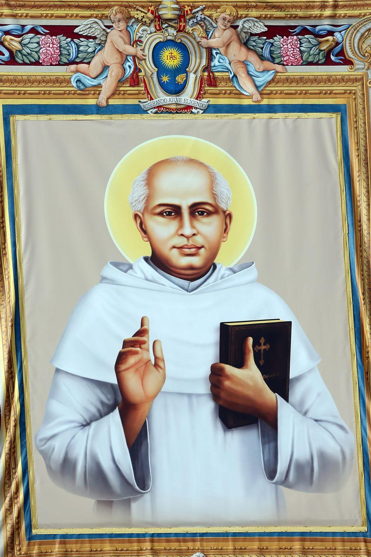 KURIAKOSE ELIAS CHAVARA, born Feb. 10, 1805, in Kainakary, India. Chavara was a priest who contributed to the growth of the S
