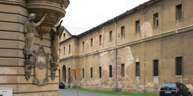 The former Jewish ghetto of Terezin, Czech Republic