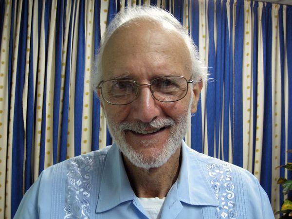 Foto de Alan Gross del 27 de noviembre de 2012, en La Habana, Cuba.