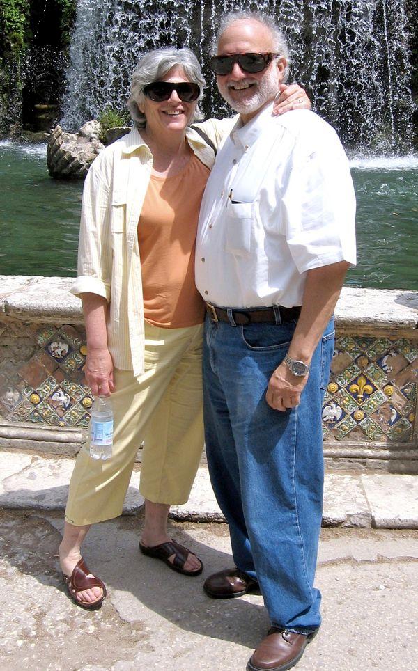 Alan Gross y su esposa Judy Gross.
